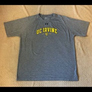 Men's XL UC Irvine T-shirt Under Armour Tee